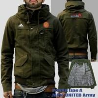 Jaket Parka Army Tipe A MU / Manchester United