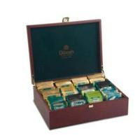 Dilmah Luxury Tea Set Wooden Box L Teh Kotak Kayu Isi 120 pcs Import