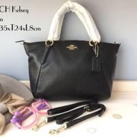 COACH Kelsey Satchel Size M Medium Tas Handbag Original Ori Murah