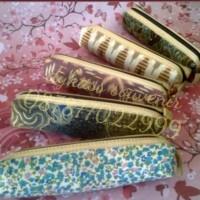 souvenir pernikahan tempat pensil batik + plastik