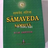 SamaVeda Samhita - buku bali hindu