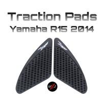 Tankpad Tankgrip Traction Pad Gripster Tank Pad / Grip Yamaha R15 2014