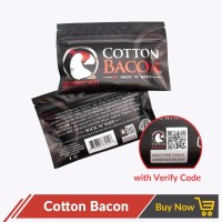 Jual Bacon V2 BIG SIZE Cotton Kapas US AUTHENTIC Vapor Vape Murah