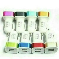 Jual Charger Mobil USB Mini 2 Terminal Murah