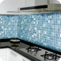 wallpaper sticker dinding dapur dan kamar mandi