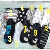 Jual Kaos kaki semata kaki (ankle socks) dewasa Murah