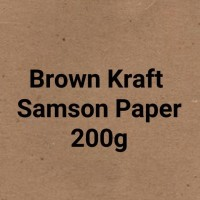 Jual Kertas Samson | Kertas Brown Craft 200 gsm | Paper Bag Murah