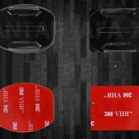 Jual Aksesoris GoPro YiCam SJCAM Flat Mount Curved Mount + VHB Sticker Murah