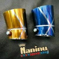 Corong Knalpot Endcup Vario 150/125 Xride Mio Soul gt Mio J Beat Fino