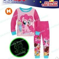 Jual Piyama little Pony baju tidur anak perempuan kaos adem nyaman lembut Murah