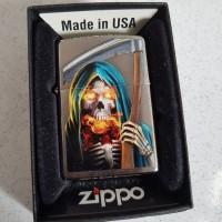 Authentic Zippo Tengkorak