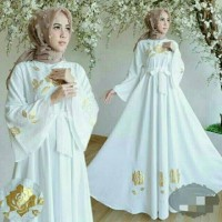 Gamis Syari Ori Sesuai Foto / Realpic Baju Muslim Wanita 41