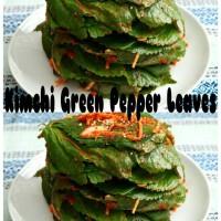 Jual Kimchi Green Pepper Leaves Import Korea Murah
