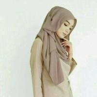 tercantik hijab pashmina instant diamond italiano jilbab simple