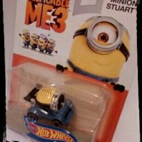 Jual Minion Stuart Character Cars - Hot Wheels Murah