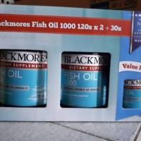 Jual blackmores fish oil 1000 120s x 2 + 30s. NO. 1 AUSTRALIA ORIGINAL Murah