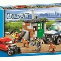 LEGO CITY compatible bela urban 10419 Police dog unit 250pcs