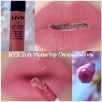 Jual NYX Soft Matte Lip Cream (NYX SMLC) CANNES 100% ORIGINAL Murah