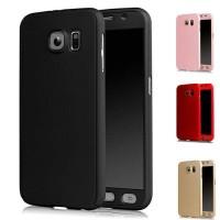 Jual Casing HP Cover Samsung S6 S6 EDGE S7 S7 EDGE 360 Case Free Tempered Murah