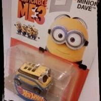 Jual Minion Dave character cars - Hot Wheels Murah