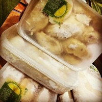 Jual durian kupas si ucok 900gr Murah