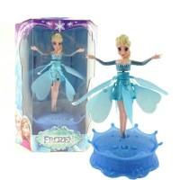 Jual Flying Elsa - Boneka Elsa Frozen Sensor Tangan - Light and Music Murah