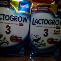 Jual Lactogrow 3 madu n plain 750gr exp des 2017 Murah