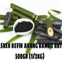 Jual Masker kefir kiloan varian arang bambu aktif 500gr Murah