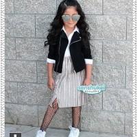 Jual Senshukei Girl Pleated Skirt Set 3in1 Murah