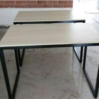 meja komputer/meja kerja/meja kantor/meja belajar bisa dilipat
