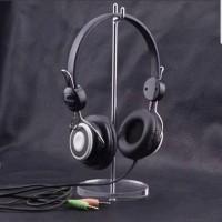 Jual Acrylic Base Headset Stand Earphone Display Headphone Holder Hanger Murah