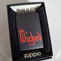 Authentic Zippo Wicked