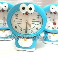 Jual Jam weker/Jam meja body karakter Doraemon Murah