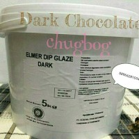 Jual Elmer Dip Glaze Dark Chocolate 5Kg | choco chocomaltine Murah