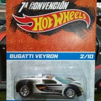 HotWheels Bugatti Veyron 7A Convencion 2/10, Super Hot and Rare Item