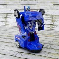 Mainan Mobil Robot Transformer