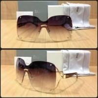 Jual Kacamata Wanita / Dior Lady + Lensa Anti Uv + Box Resletng Motif Murah