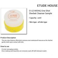 Jual  ETUDE One Shot Sherbet Cleanser 10 ml sample T2909 Murah