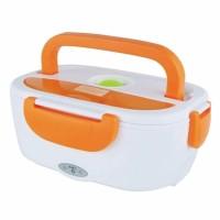 Jual Kotak Penghangat Makanan Electric Lunch Box - Orange Murah