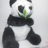 Jual Boneka Panda Rumput Lucu - Boneka Panda Ukuran 30cm Murah