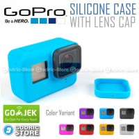 GoPro Hero 5 Silicone Case with Lens Cap Cover