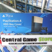 PS4 HDD Bay Cover - Gold