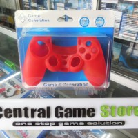 Jual PS4 Silicon for Dualshock 4 Controller - Red Murah