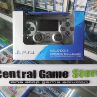 Jual PS4 New Dualshock 4 Wireless Controller Light (Silver)  Murah