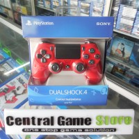 Jual PS4 New Dualshock 4 Wireless Controller Light (Magma Red)  Murah