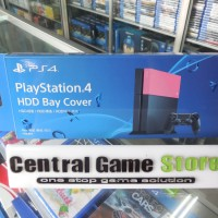 PS4 HDD Bay Cover - Pink