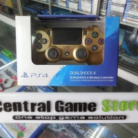Jual PS4 New Dualshock 4 Wireless Controller Light (Gold) Murah