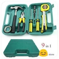 Repairing tool set 9 in1 / kit Alat tukang servis rumah atau mobil