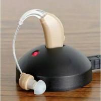 alat bantu dengar praktis bisa di cas cocok untuk manula