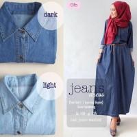 Jual Jeans Dress Suplier baju cewek online murah abaya murah gamis grosir Murah